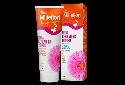 Millefiori Crema Depilatoria Piel Sensible otorga una depilación de rápida  acción ea7d9d44259f